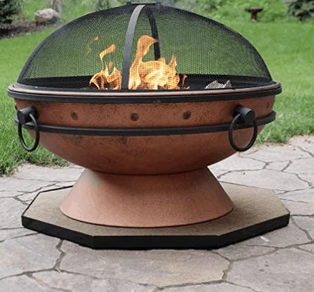 fire pit pad