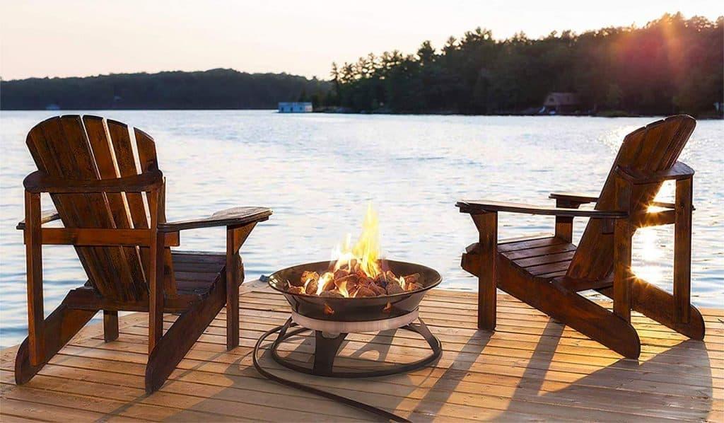 cypress fire propane fire bowl