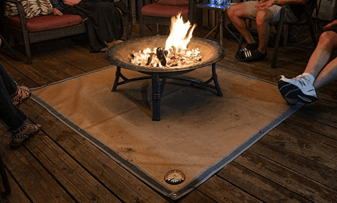 fire proof mat for grass